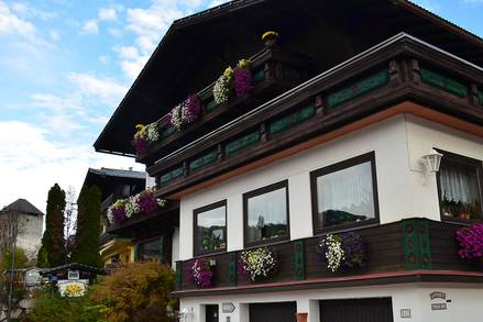 Pension Austria im Sommer